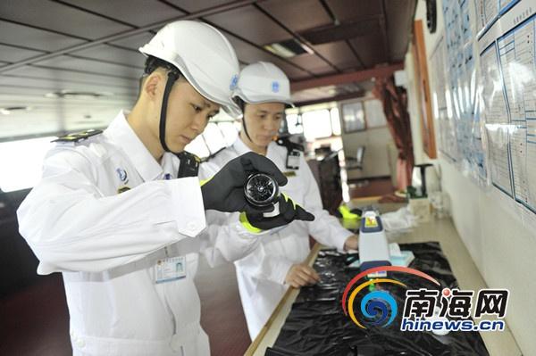 三亚海事局首次开展燃油质量抽检工作
