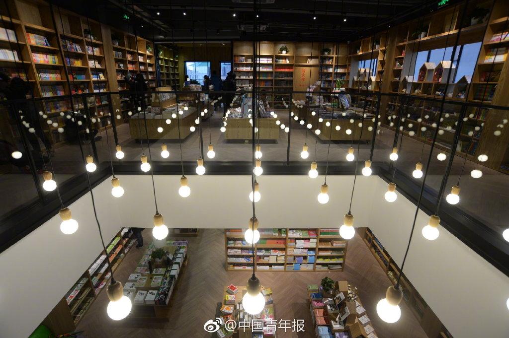 新华书店集体变 网红 颜值刷爆朋友圈图片
