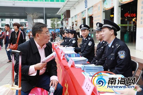 """海口警方110""""扁平化""""指挥打击现行犯罪积极帮助求助群众"""