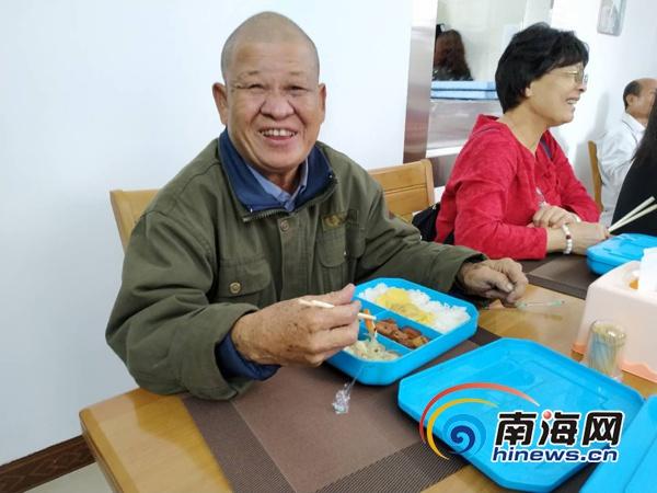 海口龙华区开设长者饭堂助餐点特困老人可享免费午餐