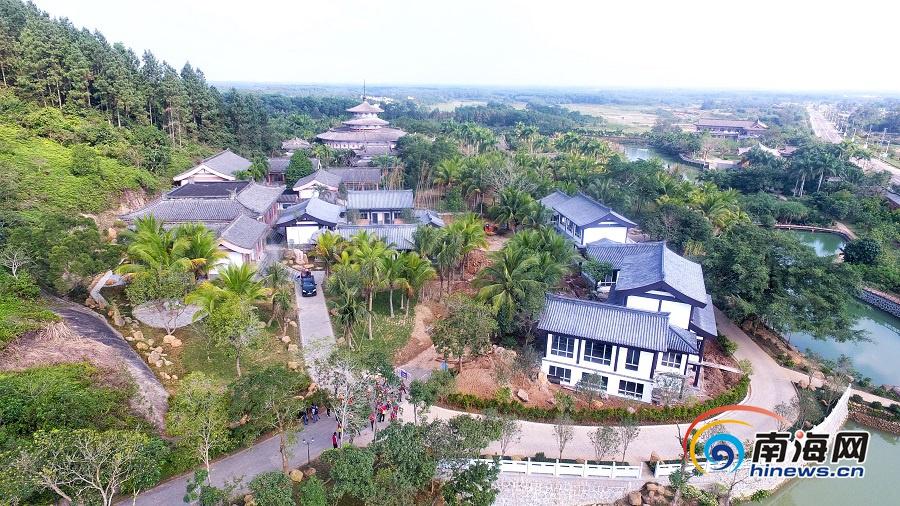 瞰海南 海南首家孝文化园在定安开园 打造孝文化传承基地