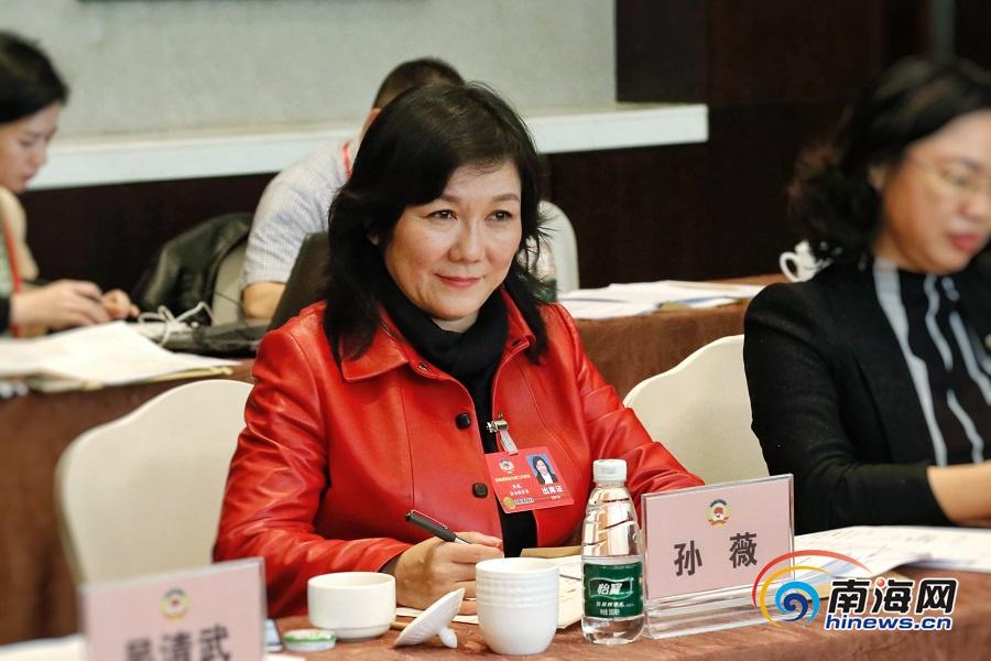 <b>提案建议|海南省政协委员孙薇:打造海南法治品牌营造一流营商环境</b>