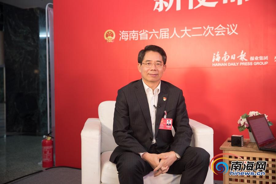 两会E访谈|昌江县委书记黄金城:试点推进医保总额预付减轻百姓医疗负担