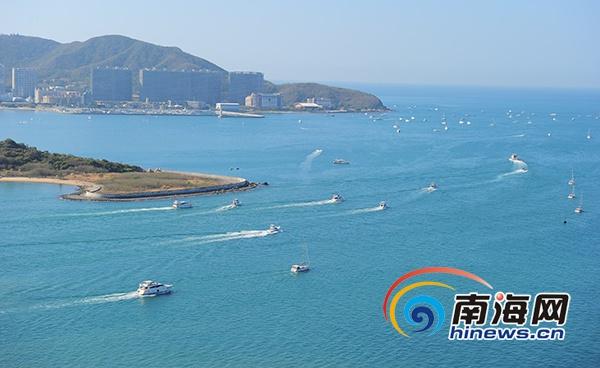 春节期间三亚游艇旅游成新亮点 消费人群为80后和70后