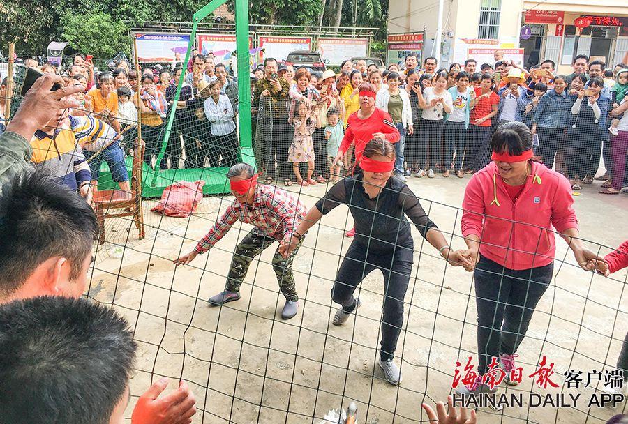 组图|定安举行游园文化活动丰富村民新春生活