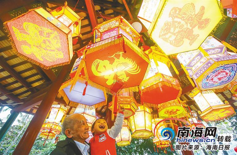 敲锣、看花灯、猜灯谜...海南人的元宵节还能这样玩!