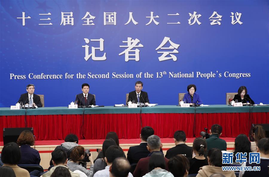 """(两会)(1)财政部部长刘昆等就""""财税改革和财政工作""""答记者问"""