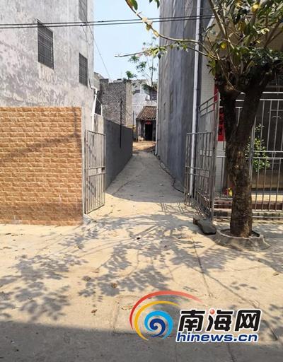 """9年三改院墙 拓宽小巷方便邻居 临高""""六尺巷""""故事感人"""