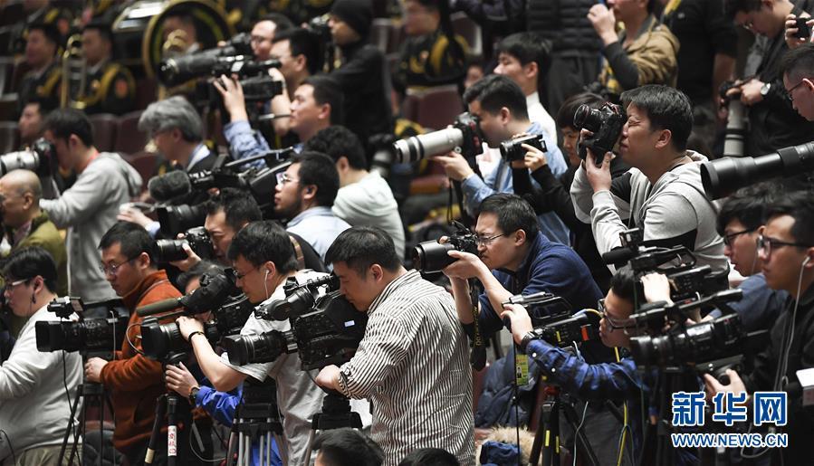 (两会·XHDW)(10)全国政协十三届二次会议闭幕