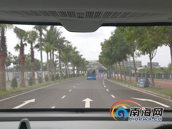 椰视频 | 智能网联汽车亮相海南博鳌 5G应用精彩多