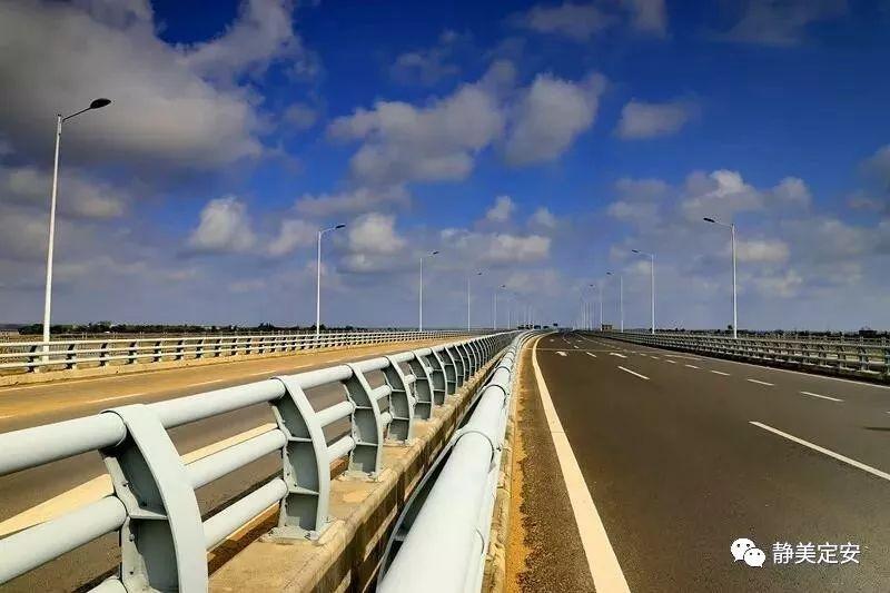 好消息!定海大桥连接线项目建成通车!