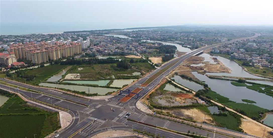 组图 | 海口推进江东新区建设