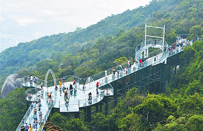 深读丨启用旅游年卡 海南旅游景区升级进行时