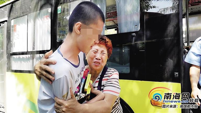 自闭症男孩走失 海口公交司机接力寻找 在澄迈找到孩子