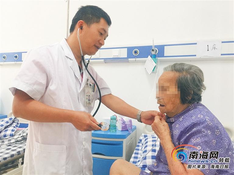 临高县中医院李海峰:小地方的好医生
