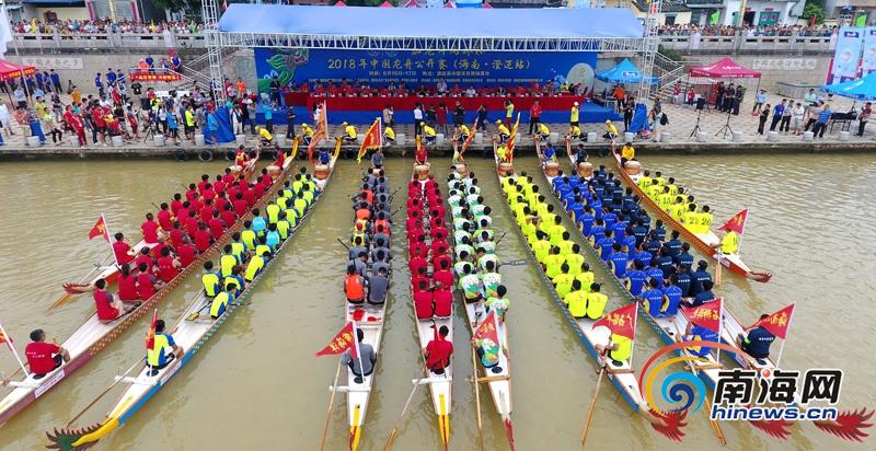 澄迈筹备第十七届海南澄迈盈滨龙水节