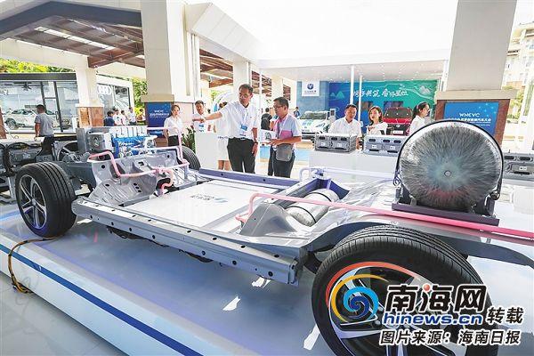 探访新能源汽车先进技术展区:全球顶尖新能源汽车产品技术亮相博鳌