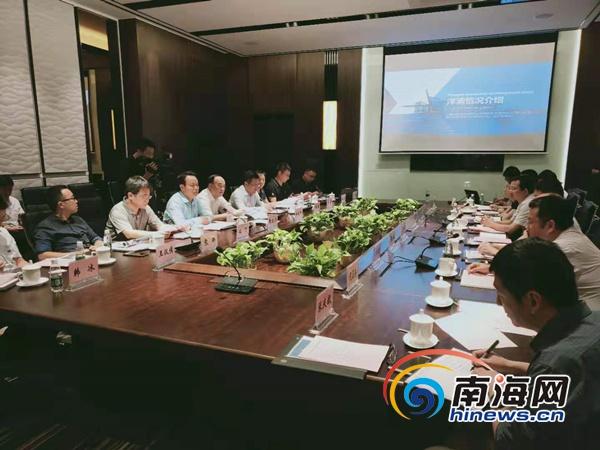 洋浦召开创新海南主题座谈会 12名院士博士服务团成员参加