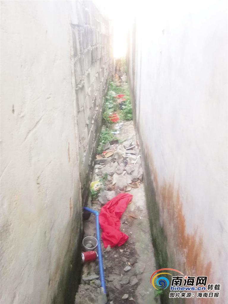 改善人居环境黑榜 | 万宁红石村:房前屋后村道,垃圾随处可见