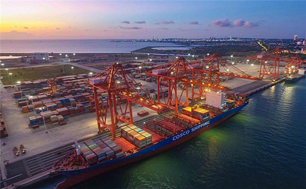 海南洋浦打造海上重要对外开放门户 已开通20条航线