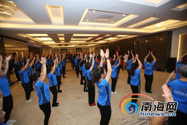 全国社会体育指导员健身技能培训澄迈开班