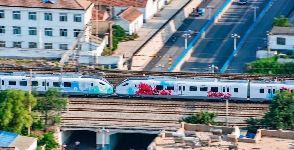 海口市域列车新动车组将于8月21日抵达海口