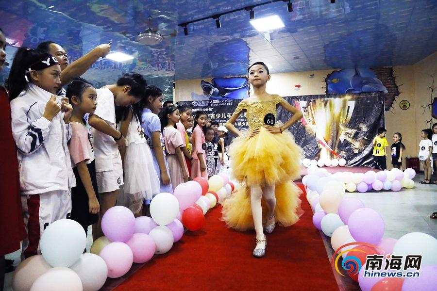 萌娃美娃齐上阵!首届海南省少儿车模大赛澄迈海选赛火热举行