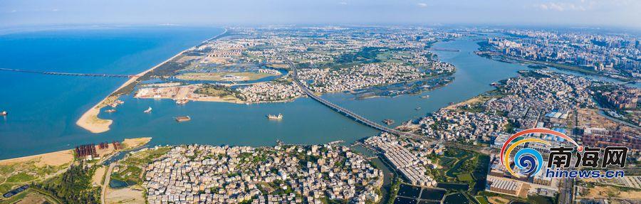 瞰海南 | 海口江东新区路网建设加速推进 椰海大道延长线即将建成通车