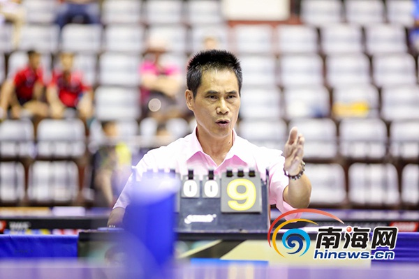 海南省少年乒乓球锦标赛屯昌开赛 13支代表队参加角逐