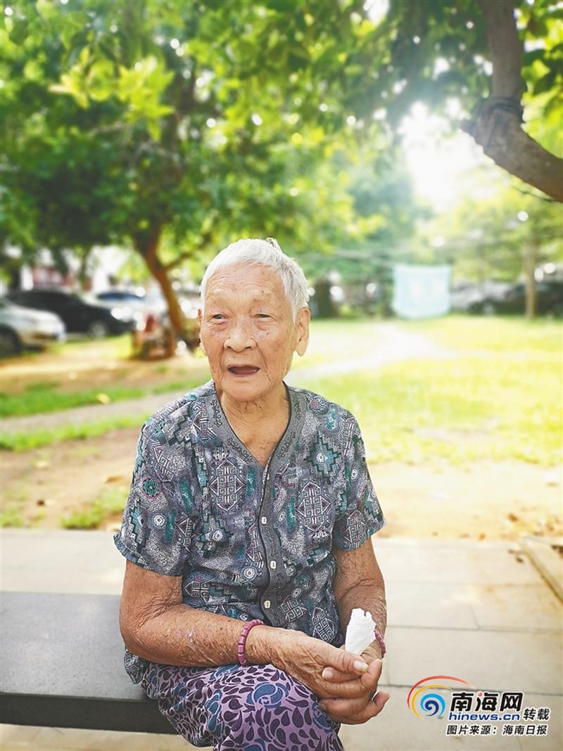 <b>海南周刊 | 海南电网90岁退休老人王菊花讲述革命生涯:此心光明 照亮一生</b>