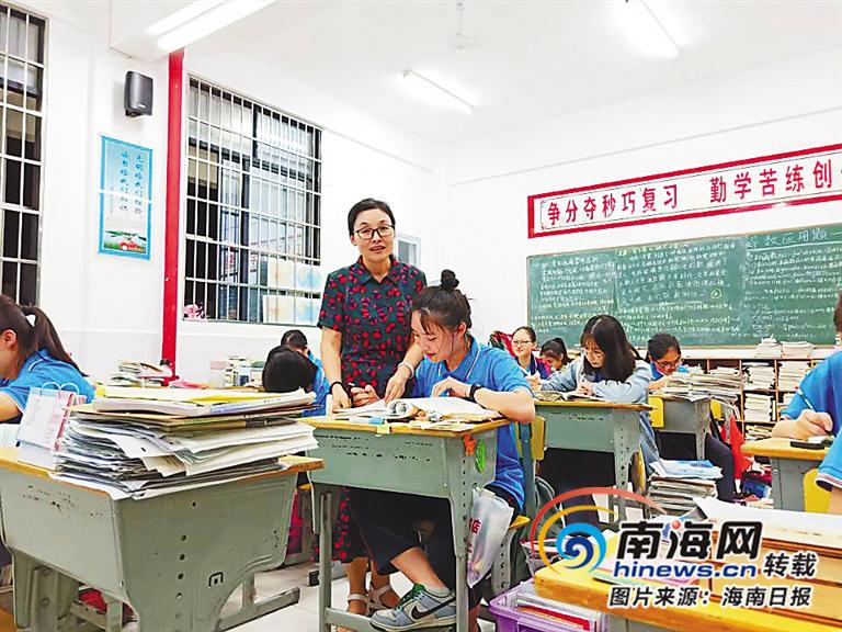 北京师范大学万宁附属中学教师李佑红:让学生成为课堂的主人