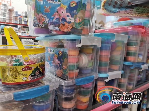 部分软泥玩具检出过量硼元素 海南已开展质量抽检