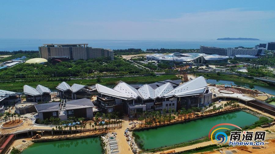三亚海棠湾河心岛项目加紧建设 预计年底开业