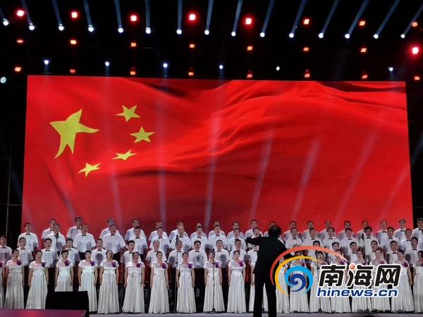 中坤代表队获屯昌县大合唱比赛乡镇组一等奖