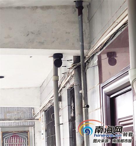 邻居在走廊装摄像头 海口一女子感觉被监视了