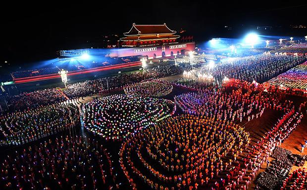 庆祝中华人民共和国成立70周年联欢活动在京举行 带你看精彩瞬间