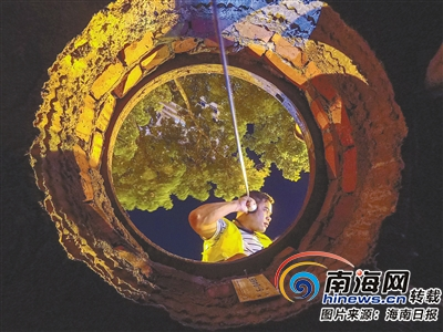 """爬高塔、下深井、钻管道……""""特殊设备检查员""""默默守护海口"""