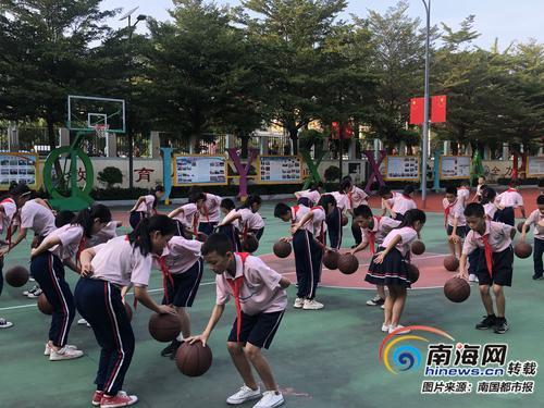 三亚吉阳小学积极创建示范特色学校 开设12项特色课程