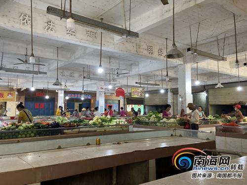 澄迈桥头镇农贸市场要关门 居民:今后上哪儿买菜?