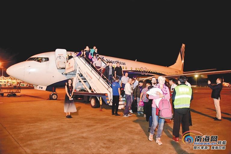自贸观察   海南半个月内新增9条国际航线 今年已执飞境外航线96条