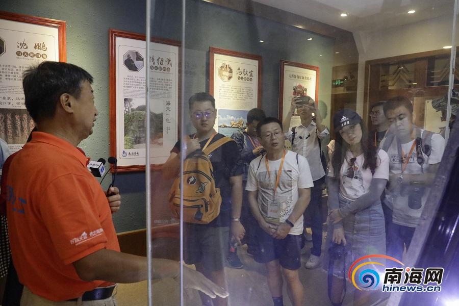网媒看海南|2019网媒行记者走进天涯海角文化苑 体验景区文旅融合发展活力