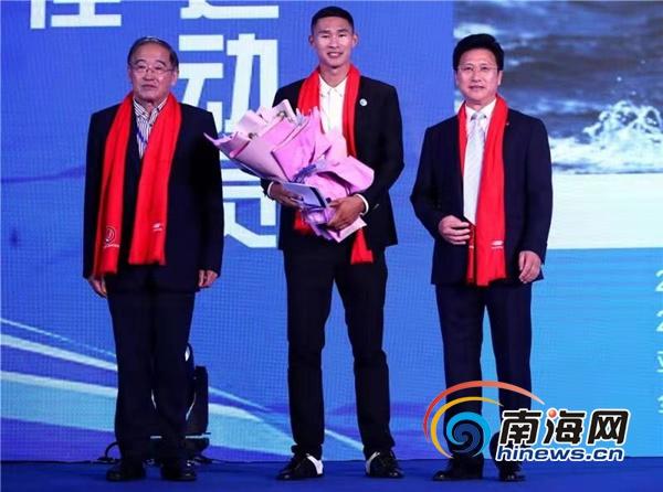 """2019中国帆船年度颁奖典礼海口举行海南选手毕焜卫冕""""最佳男运动员"""""""