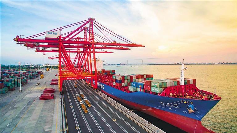 图读海南项目建设澎湃势头:招商引资提质 经济形势向好