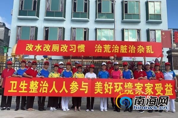 三亚市海棠区开展人居环境整治宣传月活动