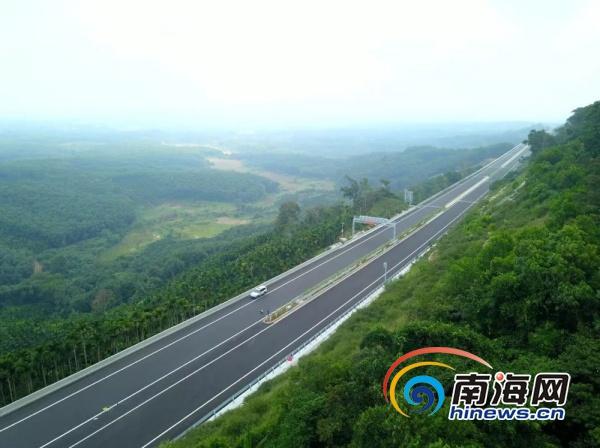 海南万洋高速公路将于12月28日举行通车仪式