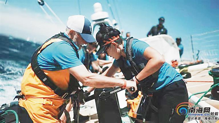 海南日报记者参加克利伯环球帆船赛·全程体验式报道|海里的颠,让人想念陆上的稳