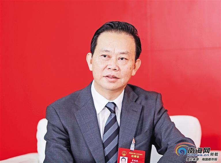 海南市县领导谈经济建设:发展牌怎么打?心里有数!