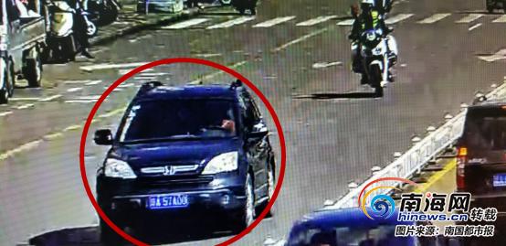 琼海一男子被拘留15天 一辆车4副车牌轮换着用