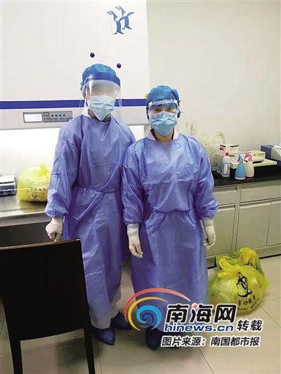 抗击疫情·基层故事 | 万宁市人民医院主管检验师张畅:前线人员很拼 有人连续工作12小时以上