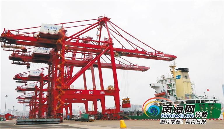 抗击疫情·动态 | 海南港航控股:免收多项费用 降低物流成本
